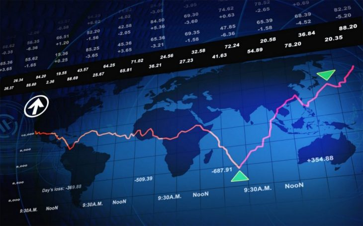 Бинарный опцион - график биржи