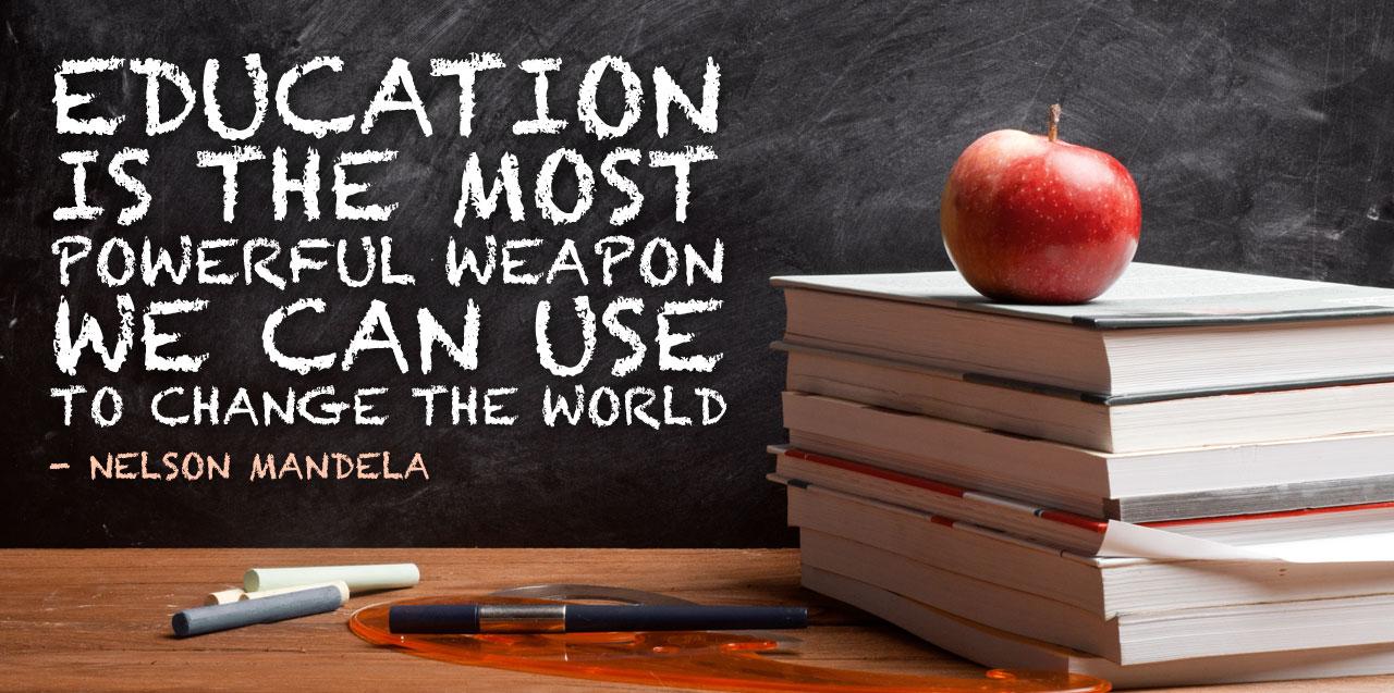 education vs world