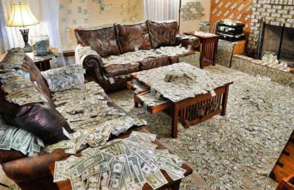 К чему снится много денег крупными купюрами?